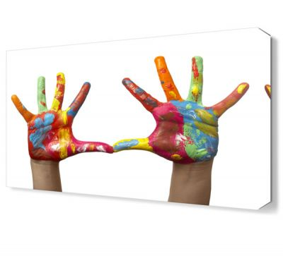 Boyalı Eller Tablosu