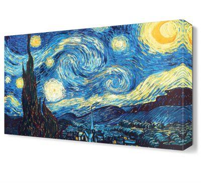 Van Gogh Yıldızlı Gece Tablosu