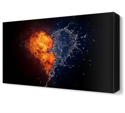 Ateş ve Suyun Aşkı Tablosu