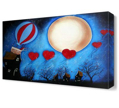 Aşk Balonları Tablosu