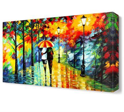 Renkli Şemsiye Tablosu