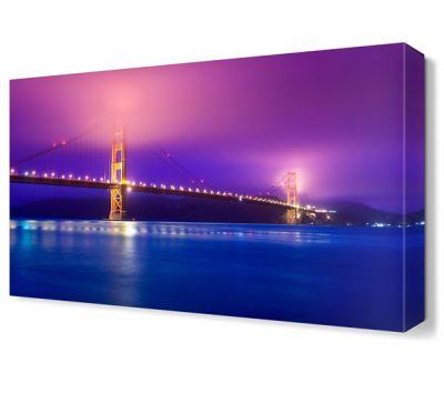 Golden Gate Köprüsü Gece Manzara Tablosu