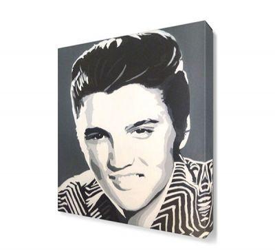 Elvis Presley Pop Art Canvas Tablo