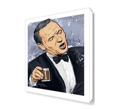 Frank Sinatra Canvas Tablo