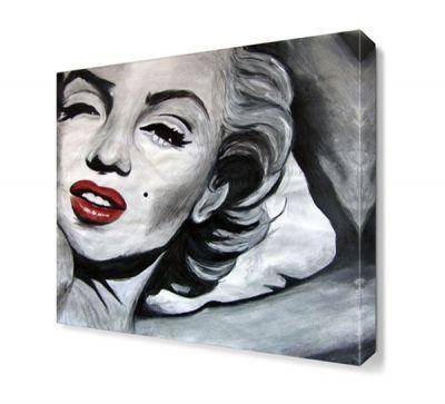 Marilyn Monroe By Age Canvas Tablo
