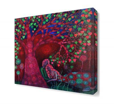 Pembe Aşk Ağacı Tablosu