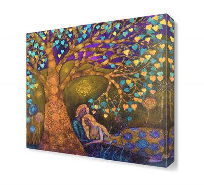 Mor Aşk Ağacı Tablosu