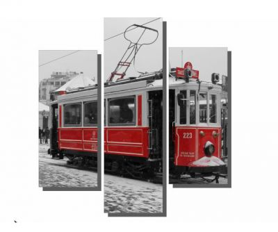 3 Parçalı Taksim Tramway Tablo