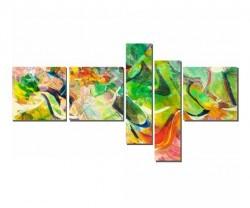 Dekorsevgisi - Yeşilin Dansı Tablosu (1)