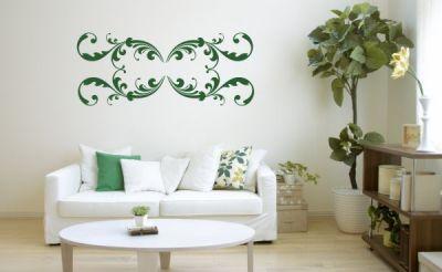 Yeşil Dekoratif Sticker